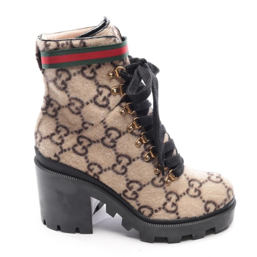 Stiefeletten von Gucci in Beige und Schwarz Gr. EUR 40 Neu
