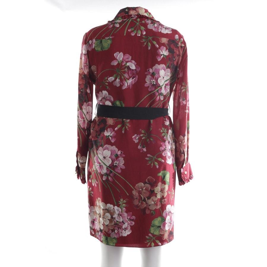 Seidenkleid von Gucci in Mehrfarbig Gr. 38 IT 44 Neu