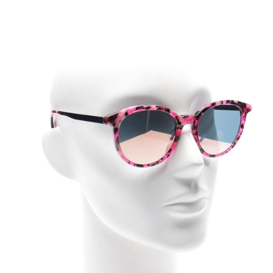 Sonnenbrille von Alexander McQueen in Pink und Mehrfarbig MQ0069S Neu