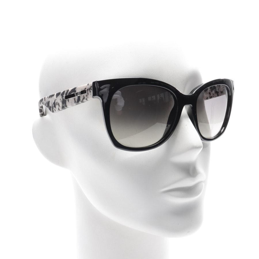 Sonnenbrille von Alexander McQueen in Schwarz und Grau MQ 0011S Neu