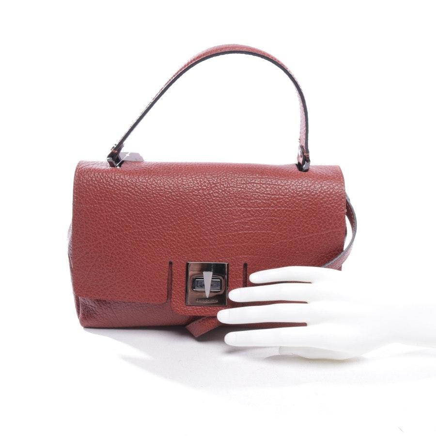Handtasche von Gianni Chiarini in Rotbraun