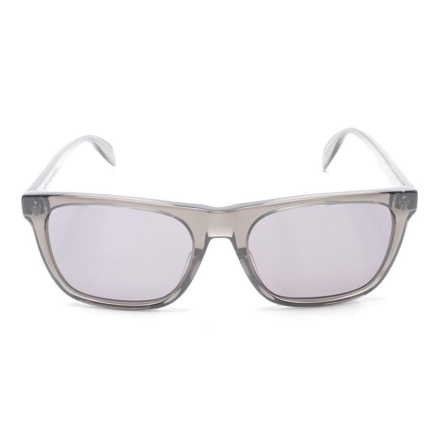 Sonnenbrille von Alexander McQueen in Dunkelgrau AM0112S Neu