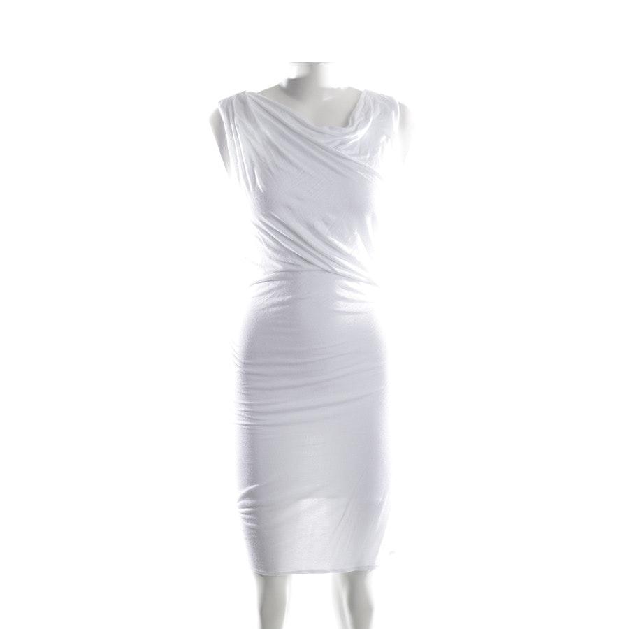 Kleid von Helmut Lang in Weiß Gr. XS