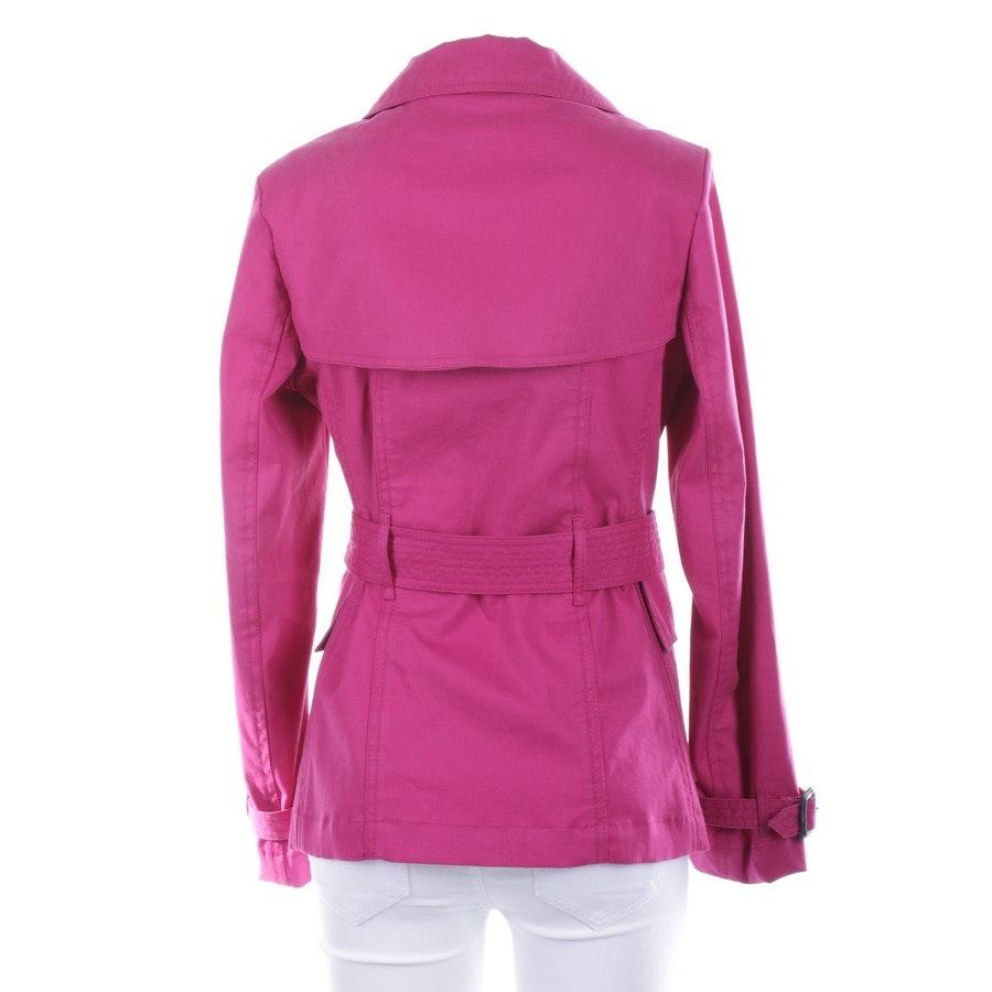 between-seasons jacket / coat from Burberry in Hotpink size 34 UK 8