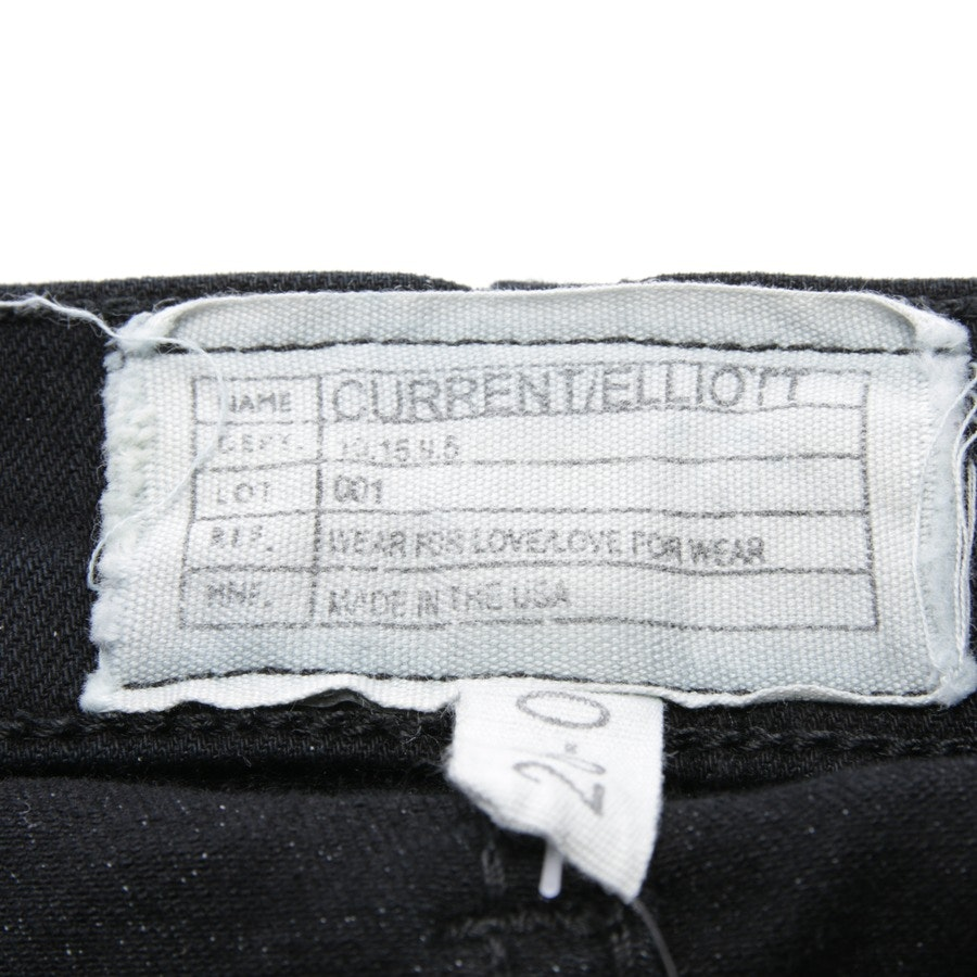 jeans from Current/Elliott in black size W26 - the ankle skinny