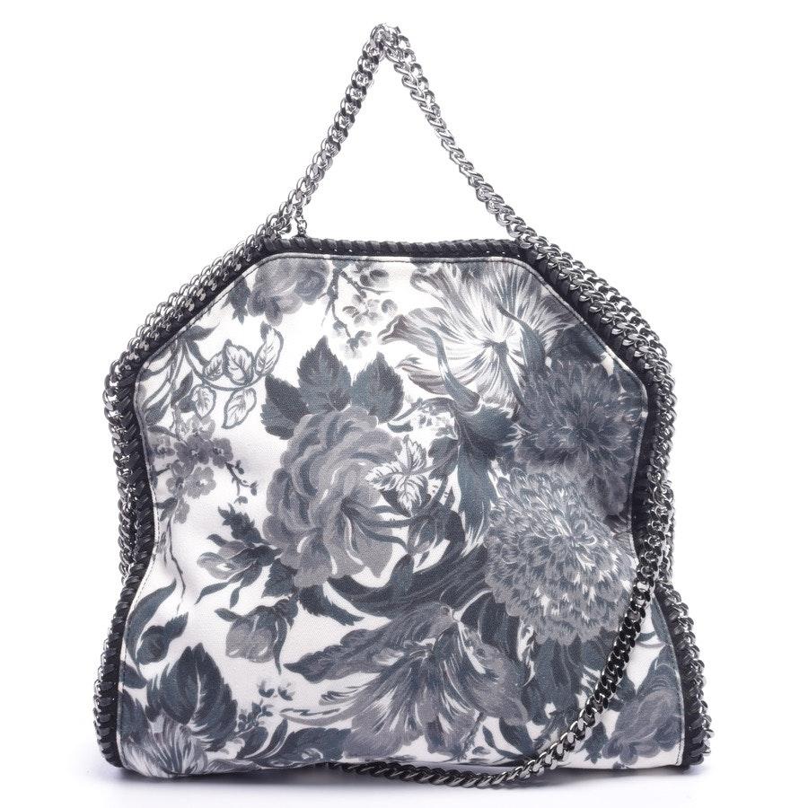 Schultertasche von Stella McCartney in Weiß und Petrol Falabella Tote Bag