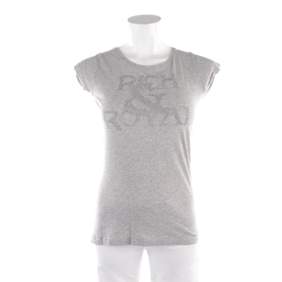 Shirt von Rich & Royal in Hellgrau Gr. S