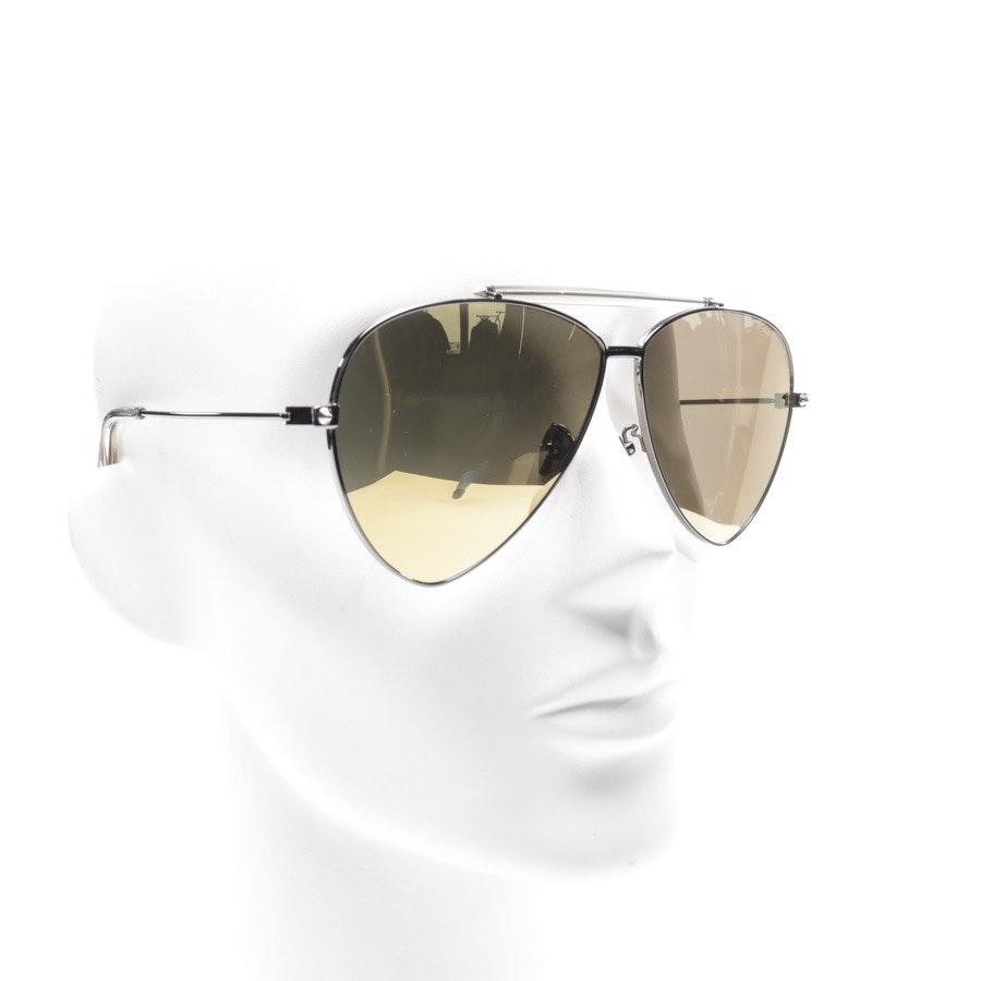 Sonnenbrille von Alexander McQueen in Schwarz AM0058S Neu