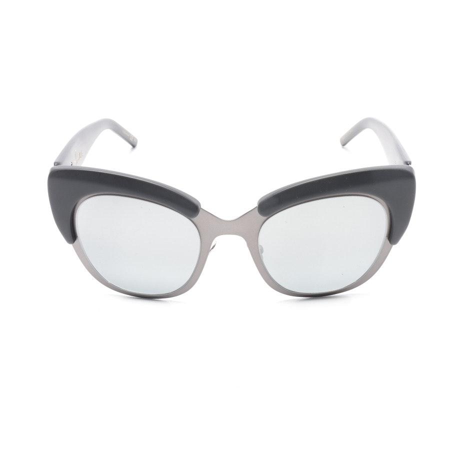 Sonnenbrille von Pomellato in Schwarz und Anthrazit PM0024S Neu