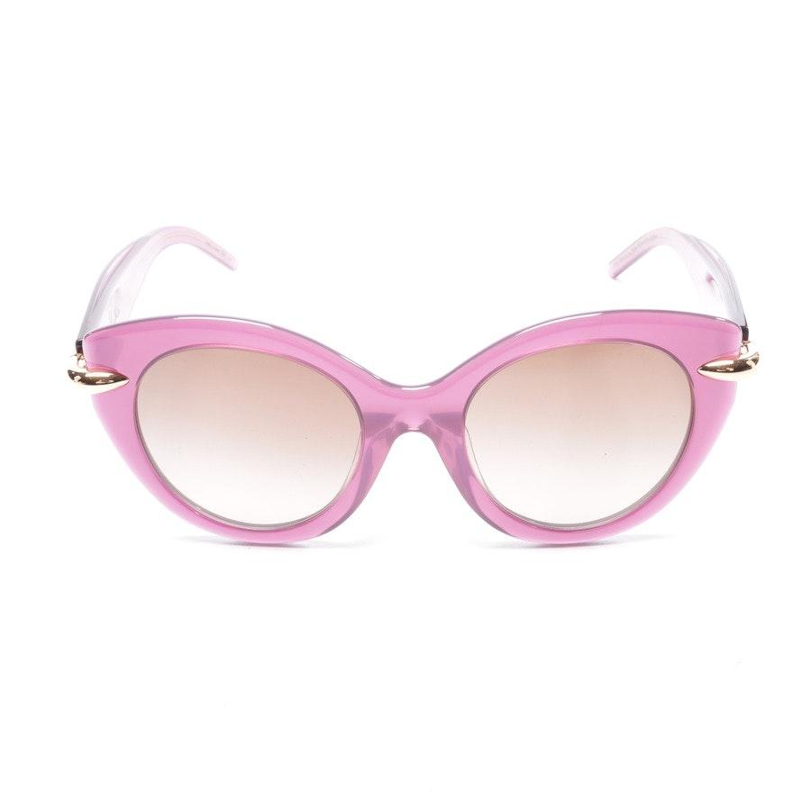 Sonnenbrille von Pomellato in Lila und Transparent PM004SA Neu