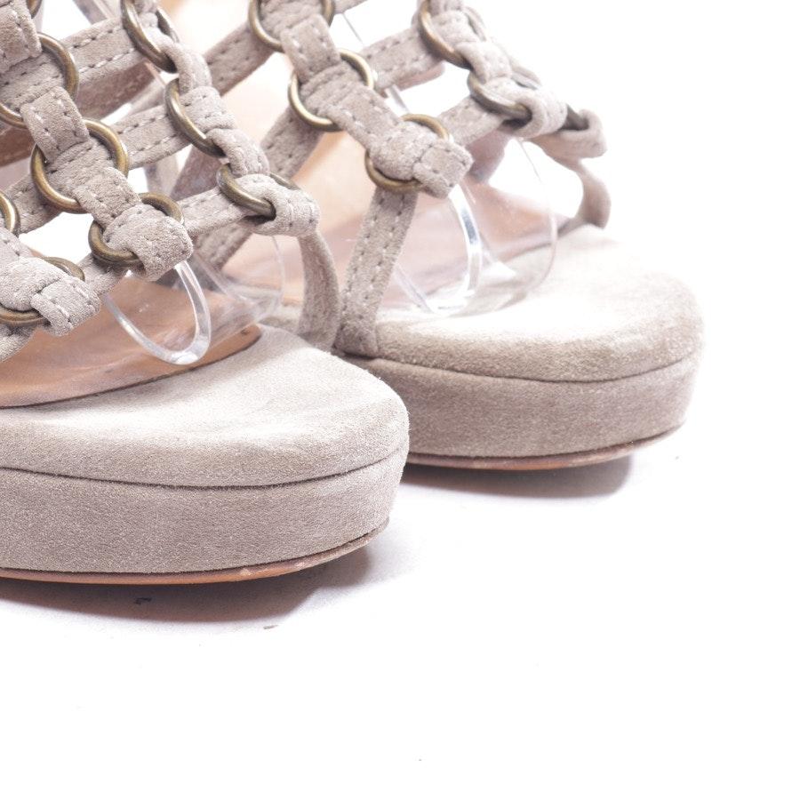 Sandaletten von L'autre chose in Beigebraun Gr. D 40