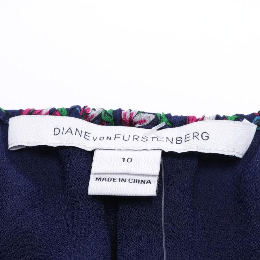 Seidenkleid von Diane von Furstenberg in Multicolor Gr. 40 US 10