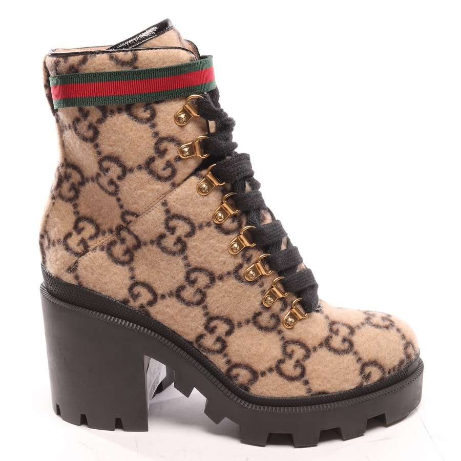 Ankle Boots from Gucci in Beige and Black size EUR 39,5 Neu