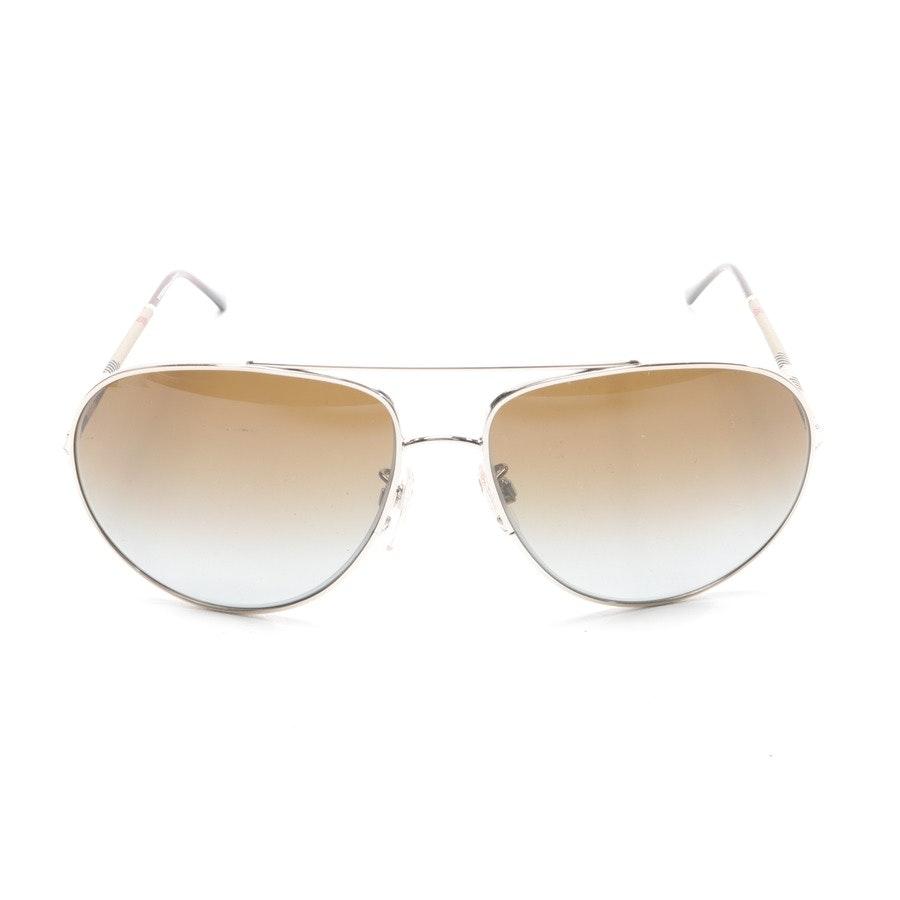 Sonnenbrille von Burberry in Gold und Mehrfarbig B3055