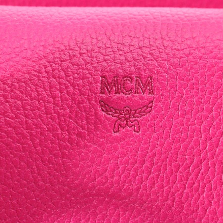 Umhängetasche von MCM in Neon Pink Milla Tote Medium