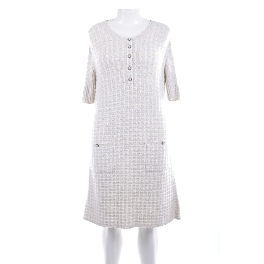 dress from Chanel in White and Gold size 42 FR 44 Neu