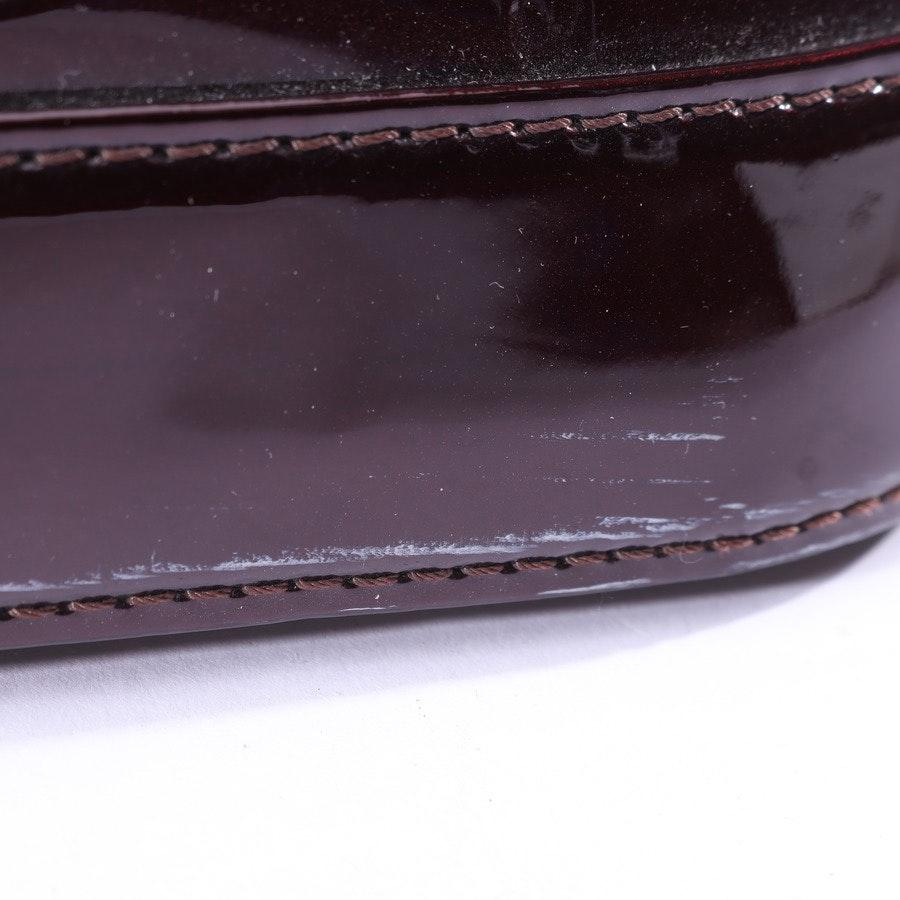 handbag from Louis Vuitton in Darkmagenta Alma MM