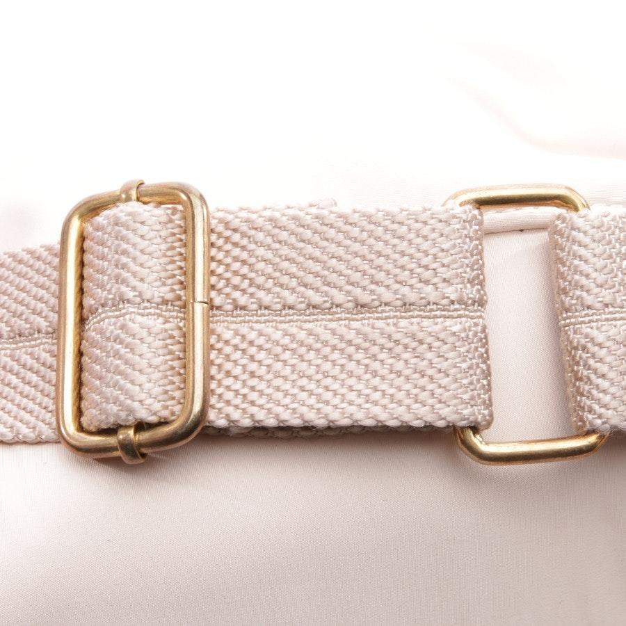 shoulder bag from Schumacher in beige