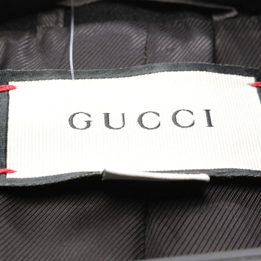 Wintermantel von Gucci in Schwarz Gr. 38 IT 44