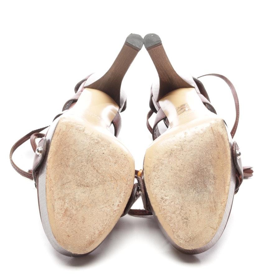 Sandaletten von Gucci in Bordeaux Gr. EUR 38