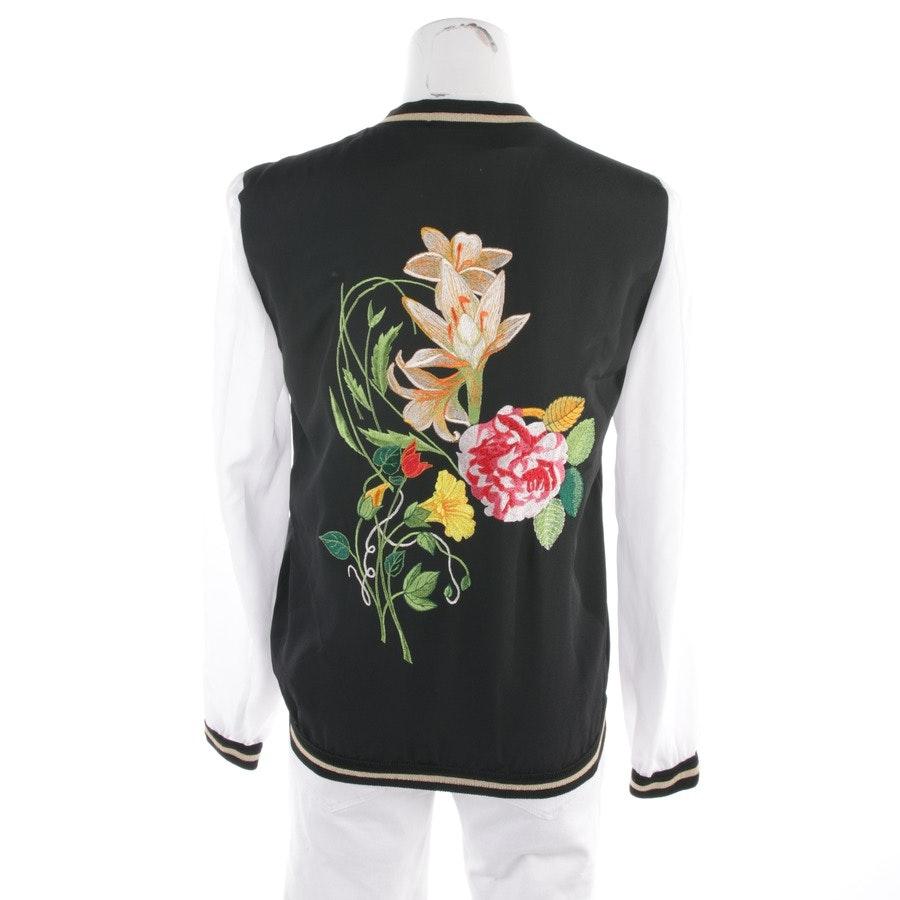 Jacke von Shirtaporter in Schwarz und Weiß Gr. 34 IT 40