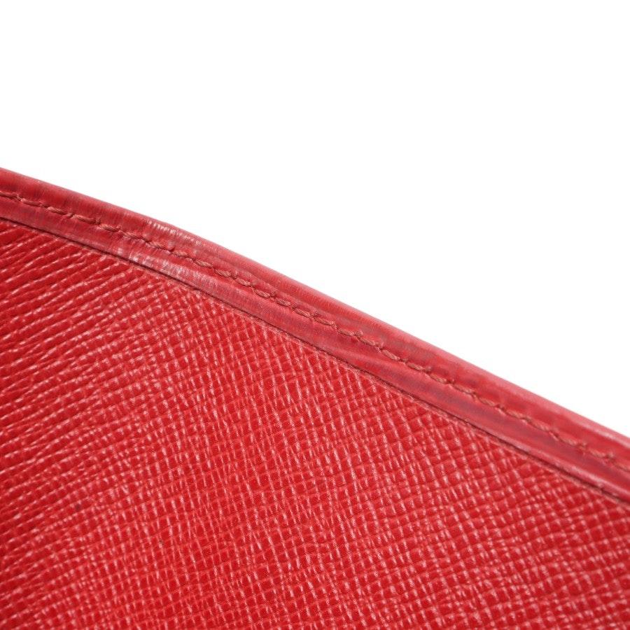 Geldbörse von Louis Vuitton in Rot groß