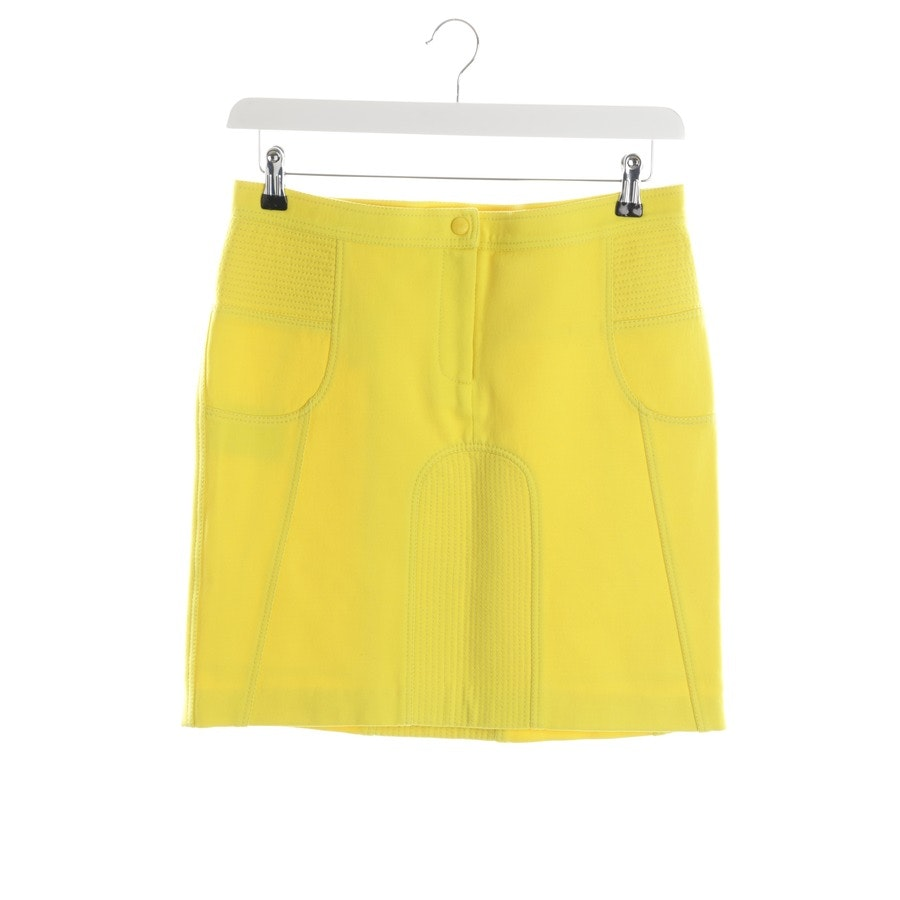 Skirt from Burberry in Yellow size 36 UK 10