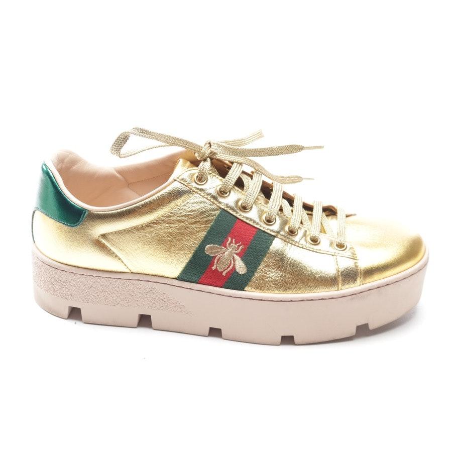Sneaker von Gucci in Gold Gr. EUR 38,5