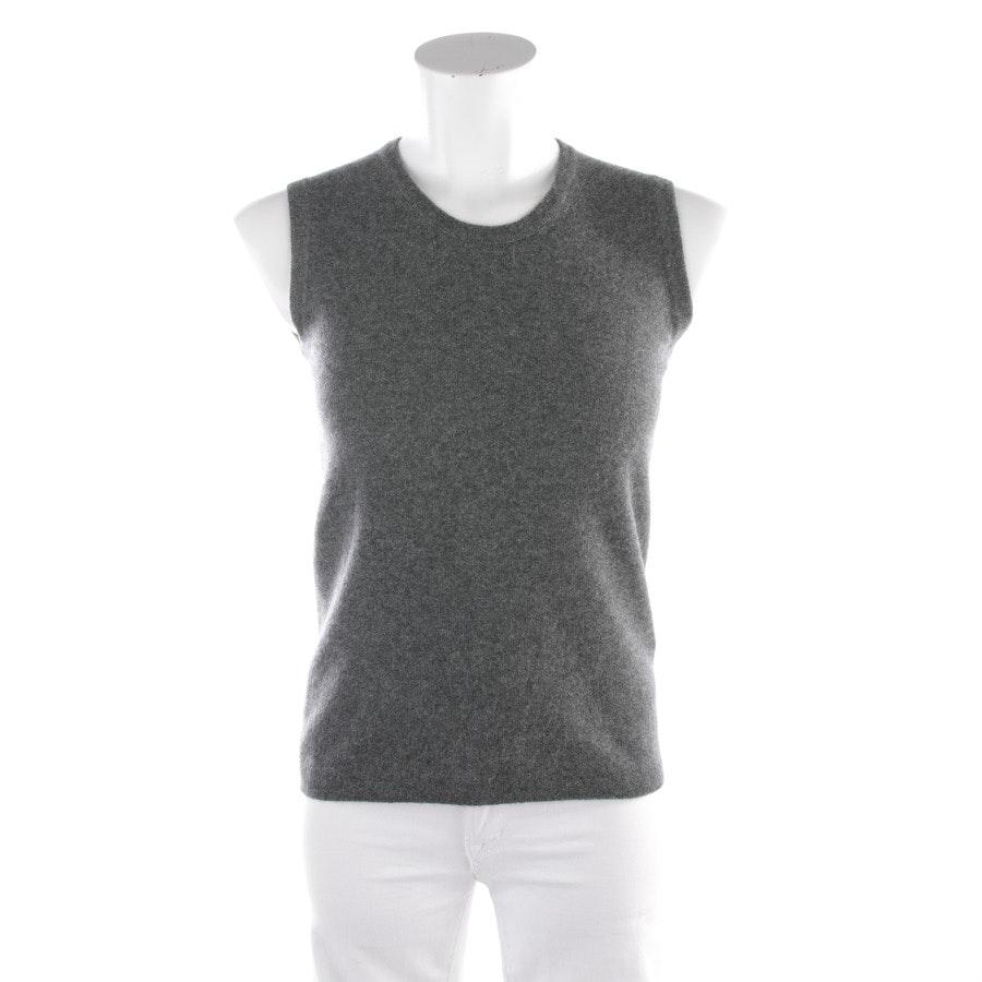 Kaschmirtop von Hermès in Grau Gr. 34 FR 36