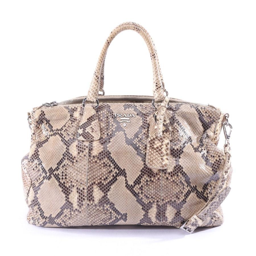 Handtasche von Prada in Beige und Schwarz