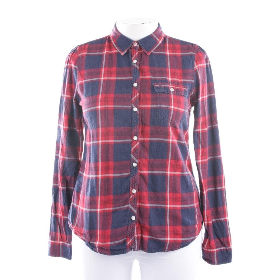 Bluse von Tommy Hilfiger Denim in Rot und Mitternachtsblau Gr. XL