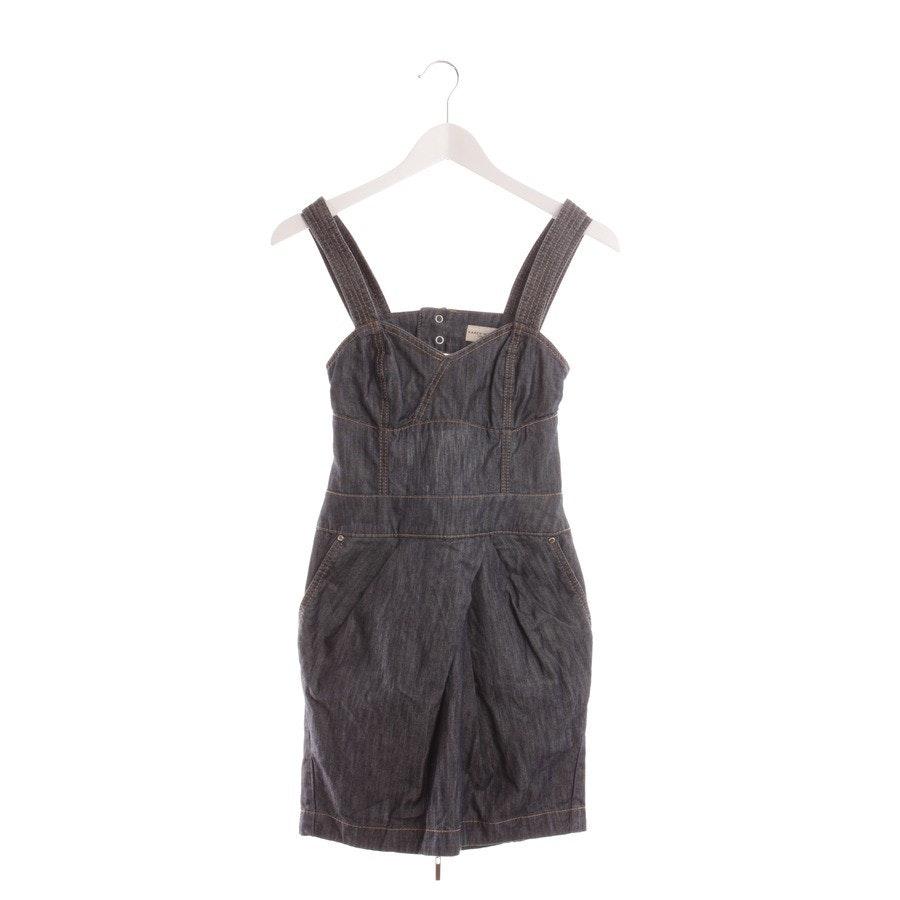 Kleid von Karen Millen in Blau & Beige Gr. DE 34 UK 8