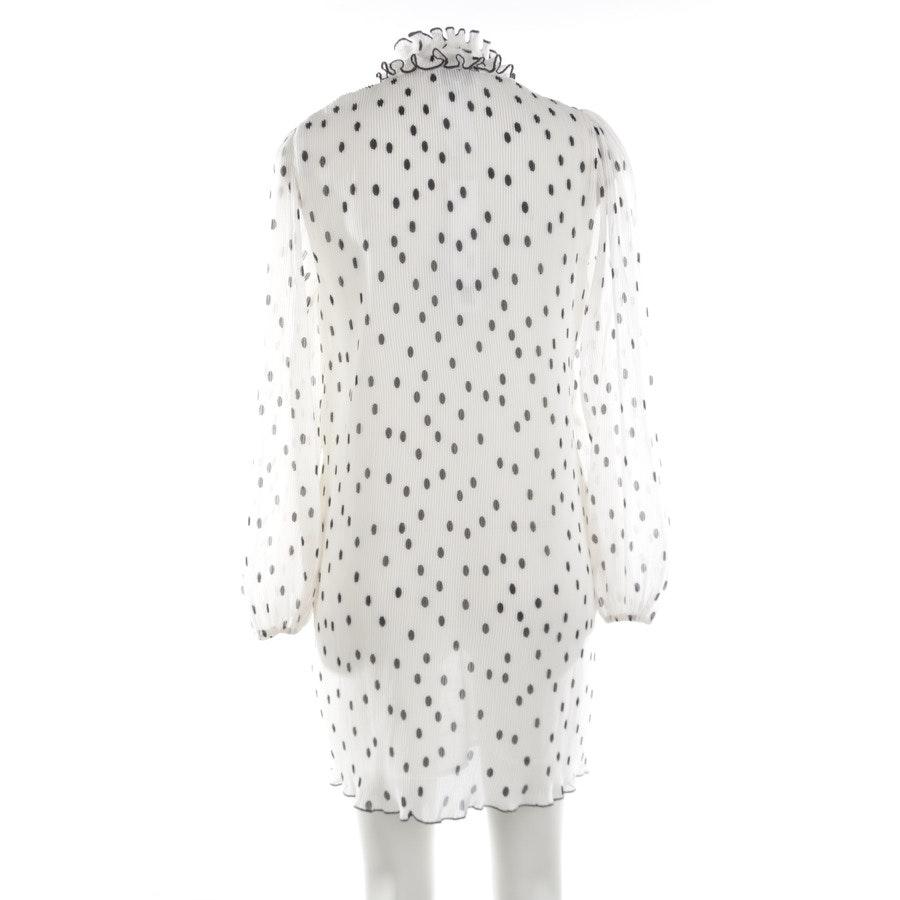 Kleid von Ganni in Weiß und Schwarz Gr. 34 Neu