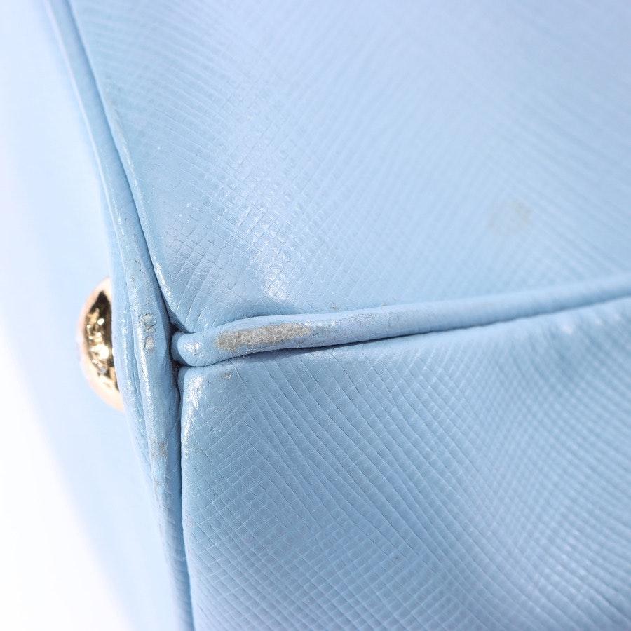 Handtasche von Prada in Hellblau Lux Galleria Mare