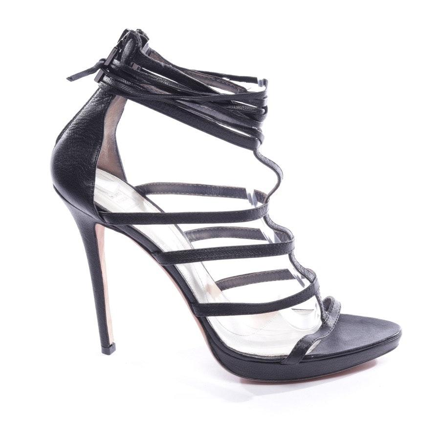 Sandaletten von Hervé Léger in Schwarz Gr. D 39