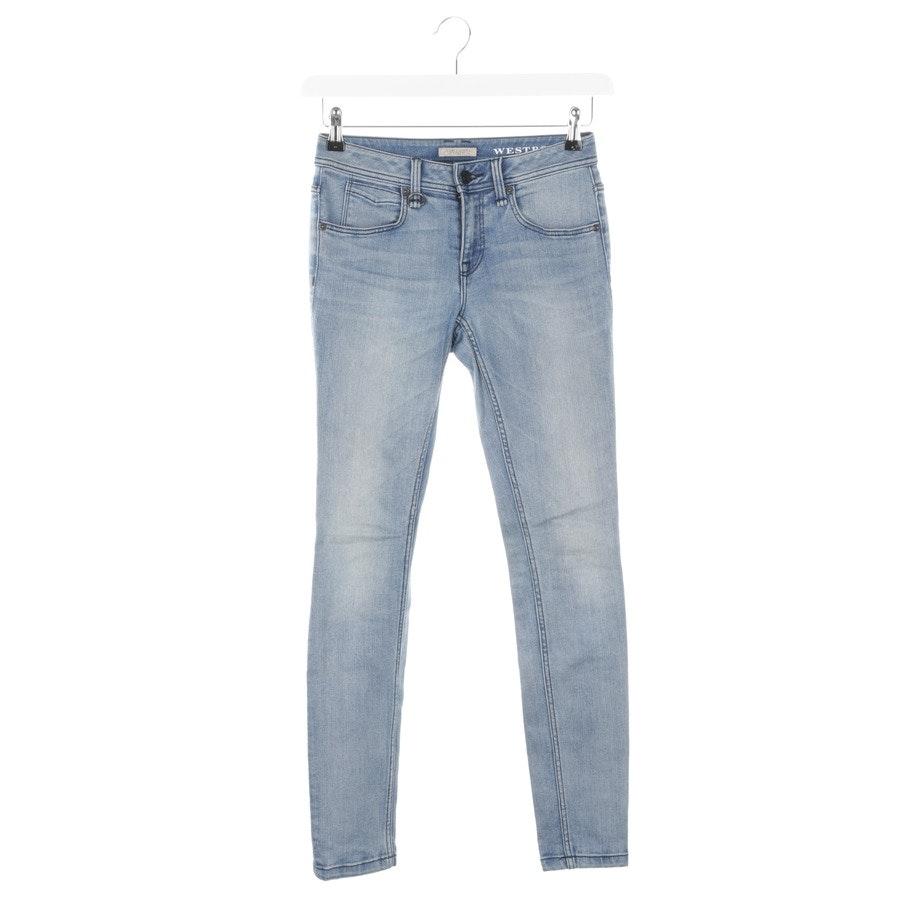 Jeans von Burberry Brit in Himmelblau Gr. W25