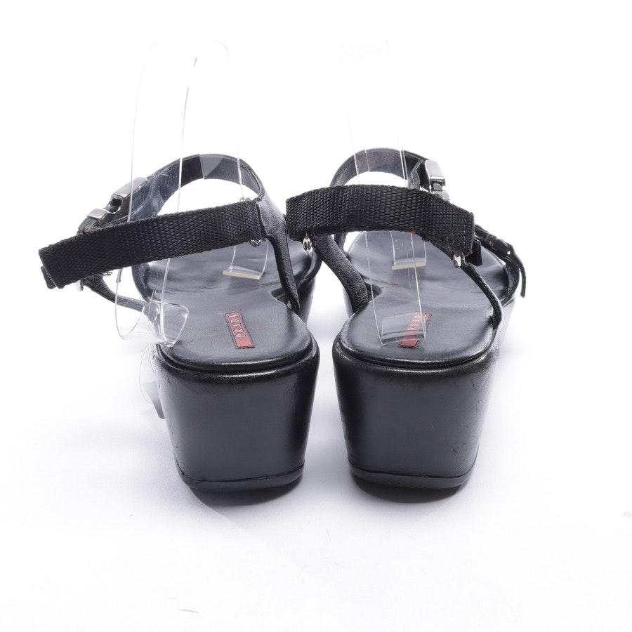 flat sandals from Prada Linea Rossa in Black size EUR 40,5