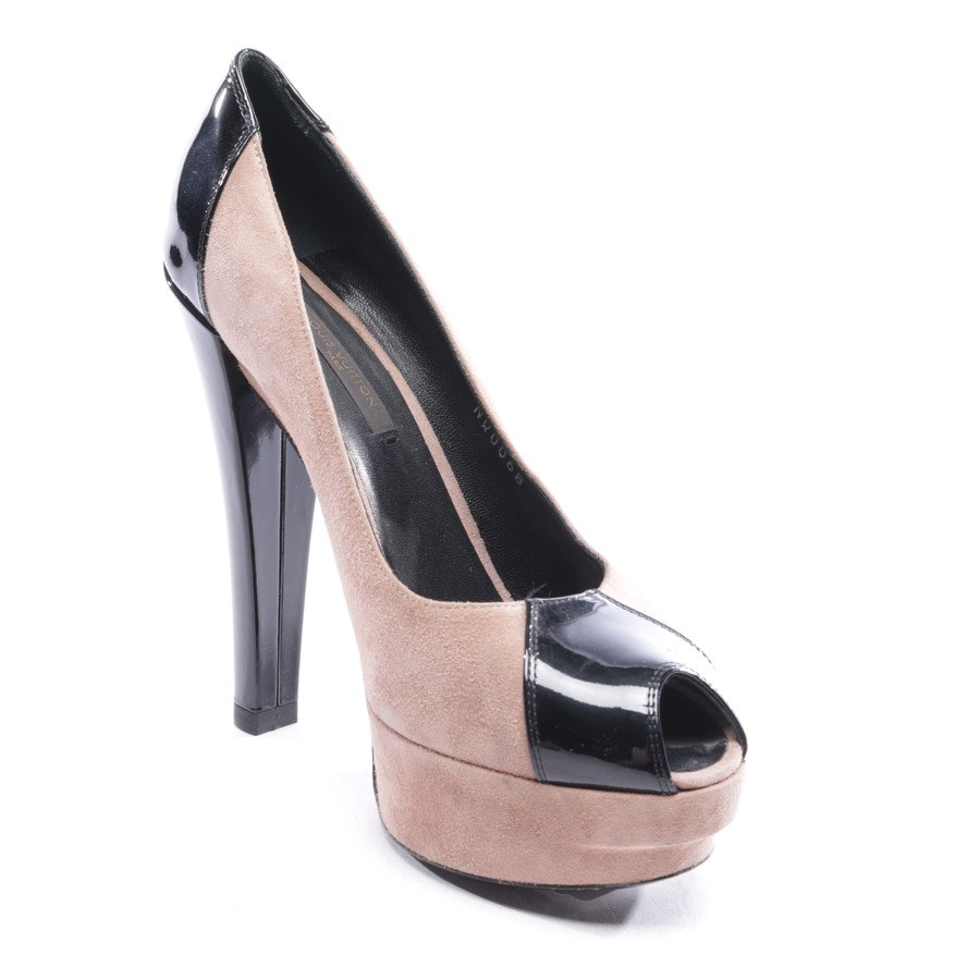 pumps from Louis Vuitton in brown and black size D 36