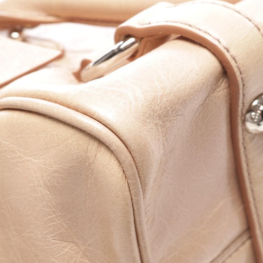 Schultertasche von Miu Miu in Beige - Bow Bag