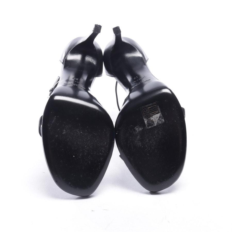 Sandaletten von Saint Laurent in Schwarz Gr. EUR 39