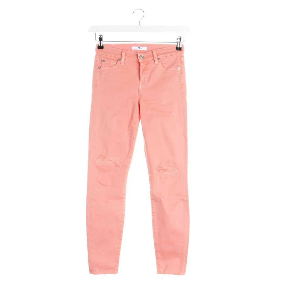 Jeans von 7 for all mankind in Lachsrosa Gr. W25