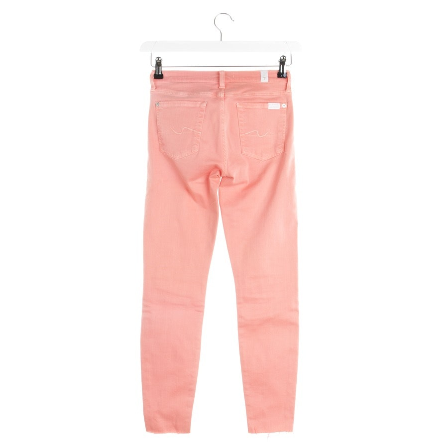 jeans from 7 for all mankind in salmon pink size W25