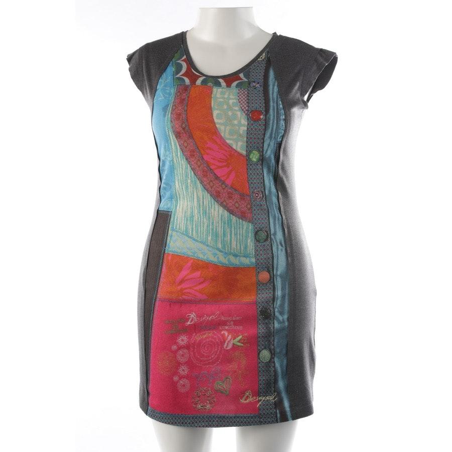 Kleid von Desigual in Multicolor und Grau Gr. L