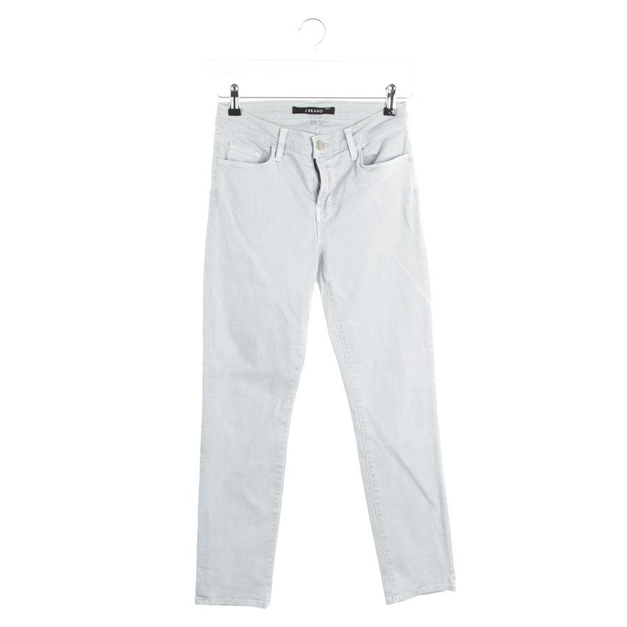 Jeans von J Brand in Türkis Gr. W27