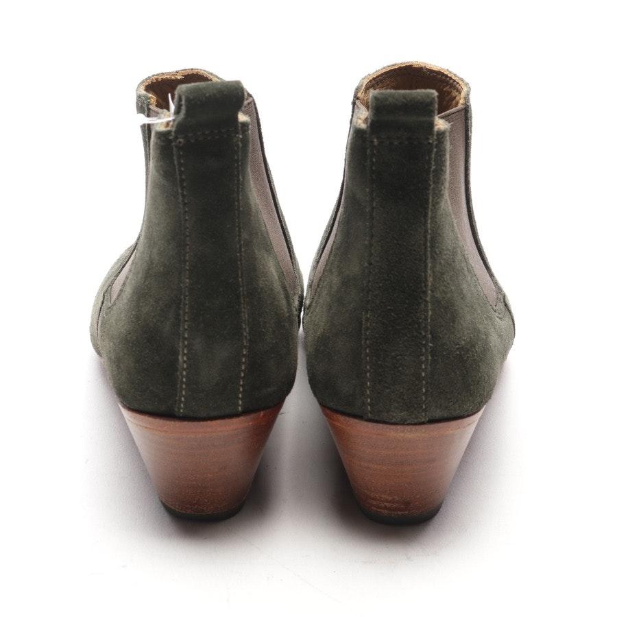 Chelsea Boots von Closed in Olive und Braun Gr. EUR 37
