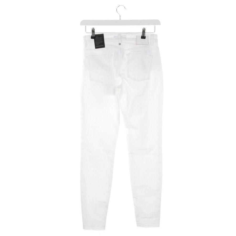 Jeans von Drykorn in Weiß Gr. W28 Neu
