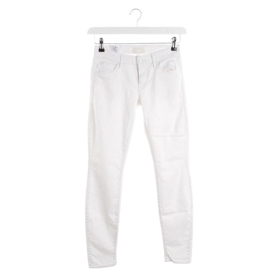 Jeans von Mother in Weiß Gr. W25