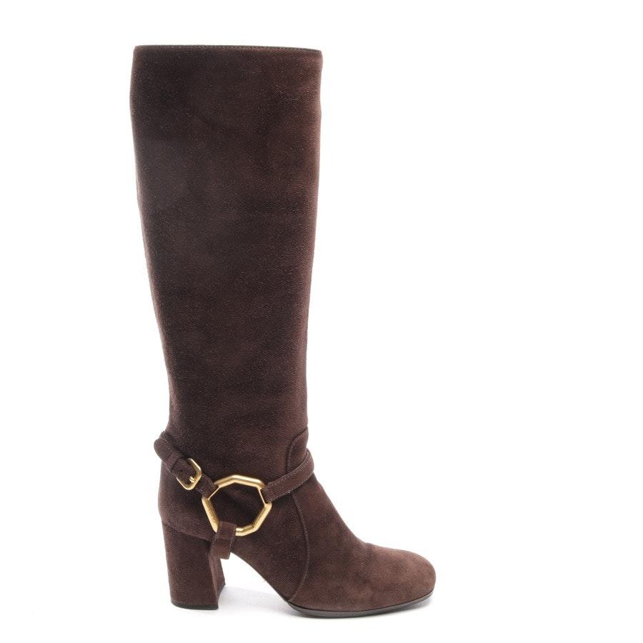 boots from Prada in Dark brown size EUR 36,5