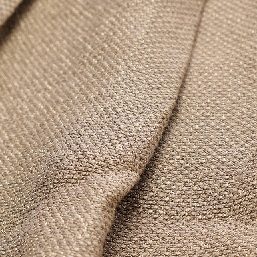 skirt from Dries van Noten in gold size 36 FR 38