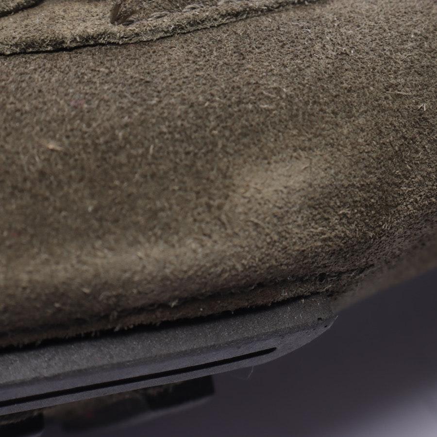 Pumps von Polo Ralph Lauren in Dunkles Olivgrün Gr. EUR 39,5 8 1/2 Neu